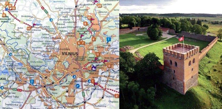"""V.Kandroto nuotr., knyga """"Įdomiausios kelionės po Lietuvą"""""""
