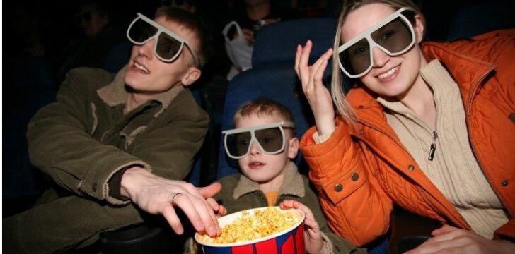 Kokių klaidų nedaryti einant su vaiku į kino teatrą?