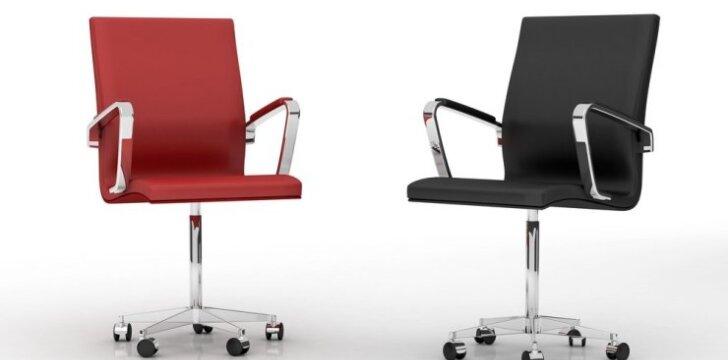 Prestižinės biuro kėdės pavyzdys