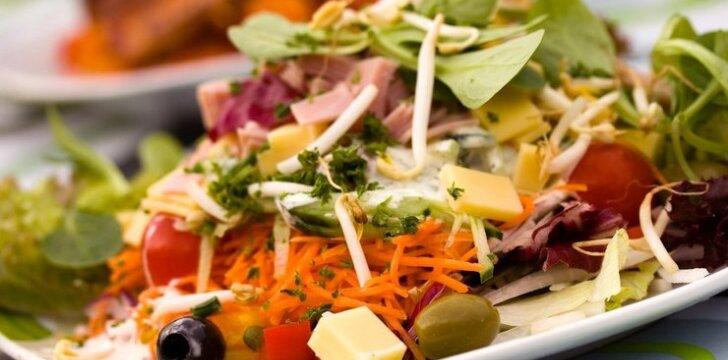 Itališkos salotos su jautiena