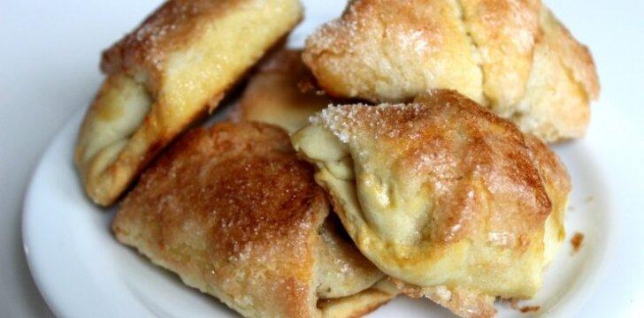 Tobulai skanūs ir greitai pagaminami sausainiai su obuoliais