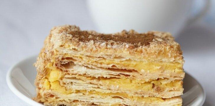 "Tortas ""Napoleonas"""