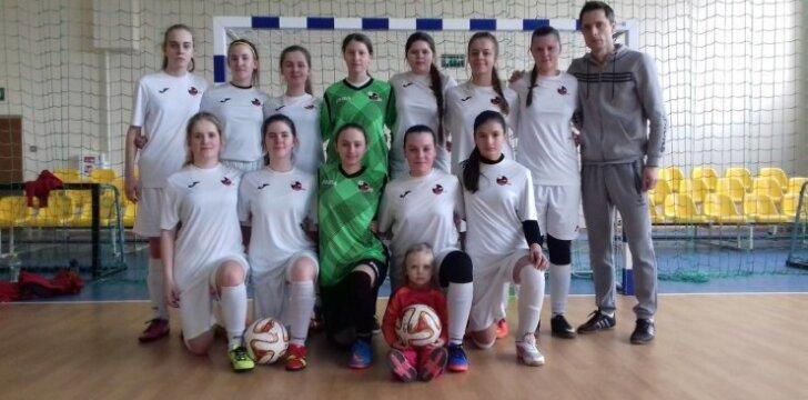 Marijampolietės Lietuvos mažojo futbolo čempionato finale užėmė ketvirtą vietą