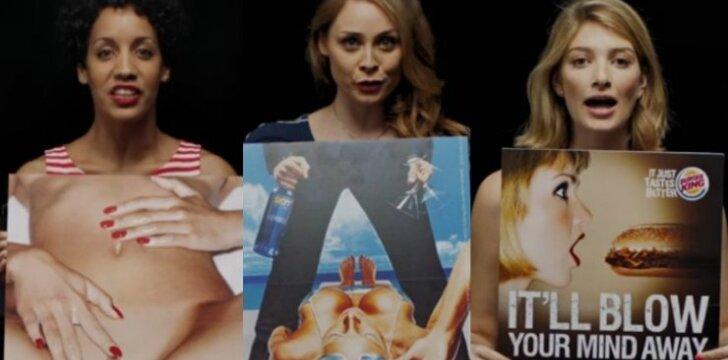 Moteris žeminanti reklama