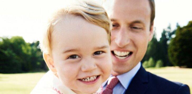 Princas Williamas atskleidė įdomų faktą apie mažąjį princą