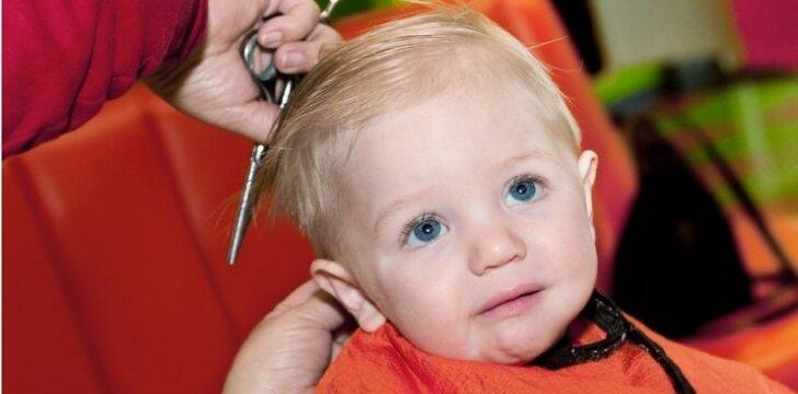 Vaikas kirpykloje: kaip išvengti ašarų ir isterijos?