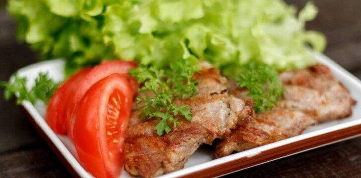Gardus mėsos kepsnys, kuris iškepa minkštas