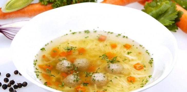 2 sriubų mažyliams receptai