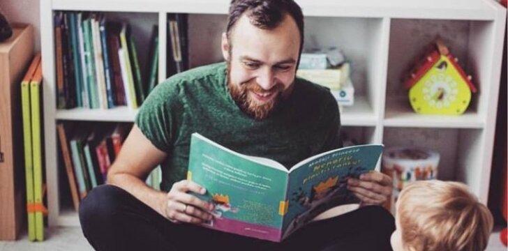 Simonas Urbonas – apie tėvystės atostogas atvirai
