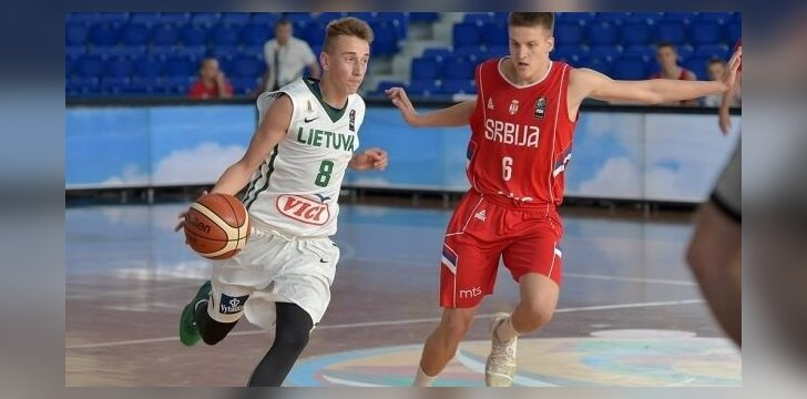 Krepšinis: Lietuva U16 – Serbija U16