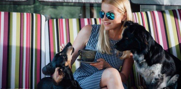 Rūta Mikelkevičiūtė: aš neįsivaizduoju nei gyvenimo, nei namų be gyvūnų