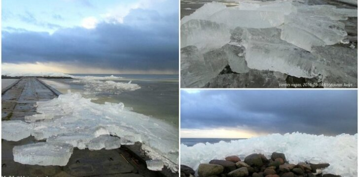 Ledo lytys Ventės rage