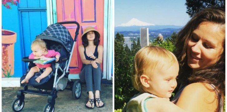 Havajuose gyvenanti rašytoja Vaiva Rykštaitė atostogų be dukrytės neįsivaizduoja