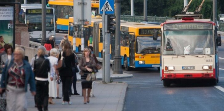 Troleibusai ir autobusai Vilniuje