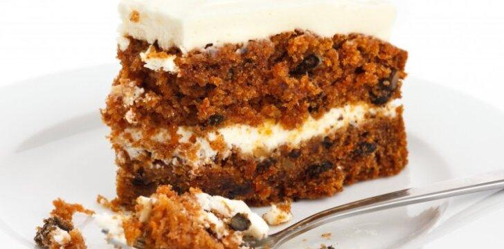 Nepaprastai skanus morkų pyragas
