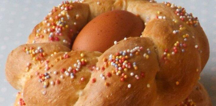 Itališka Velykų duona