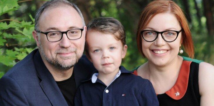 Italo ir lietuvės šeima: nusprendėme sūnų maitinti vegetariškai