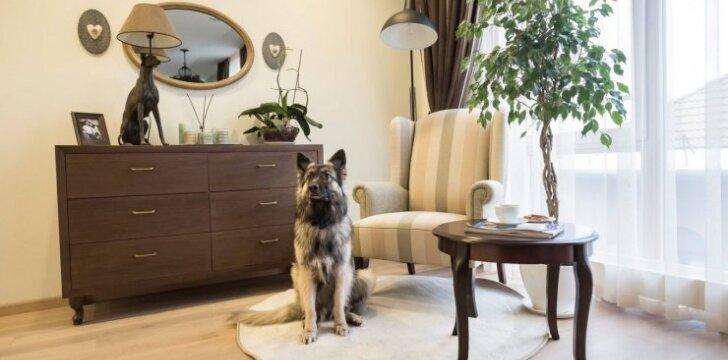 100 kv.m butas uostamiestyje – jauki asmeninė erdvė