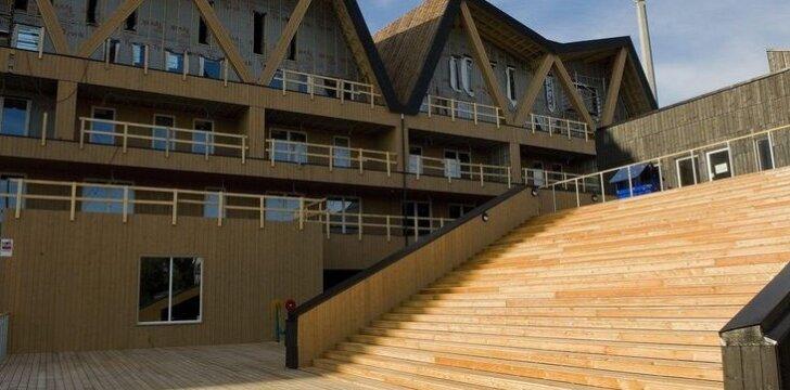 Medinė Norvegijos architektūra
