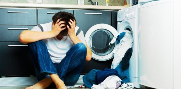 Kai kada taupiosios skalbyklės remontuoti neapsimoka