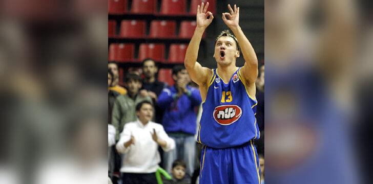 """Šarūnas Jasikevičius (""""Maccabi"""")"""