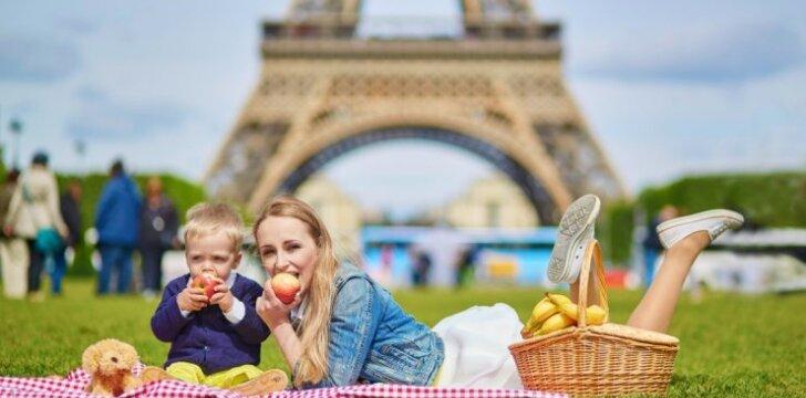 Vaikutis ir mama Paryžiuje