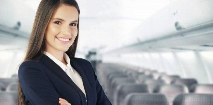 Lėktuvų palydovę piktina tai, ką apie jos profesiją mano kiti