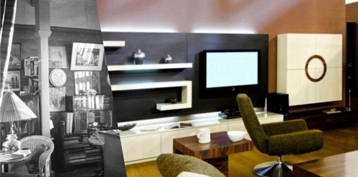 Svetainių pokyčiai: nuo salono iki nedidelės laisvalaikio erdvės