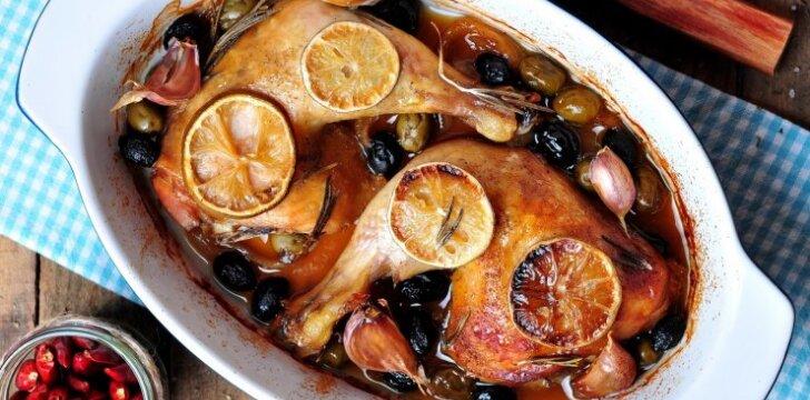 Graikiška kepta vištiena