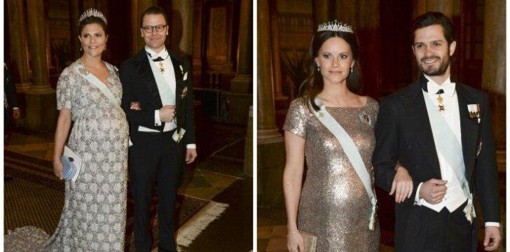 "Nėščia Švedijos princesė dėvi suknelę <em style=""color: #ff0000;"">su paslaptimi</em>"
