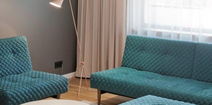 Skandinaviški lietuvių dizainerės sprendimai 127 kv.m. bute