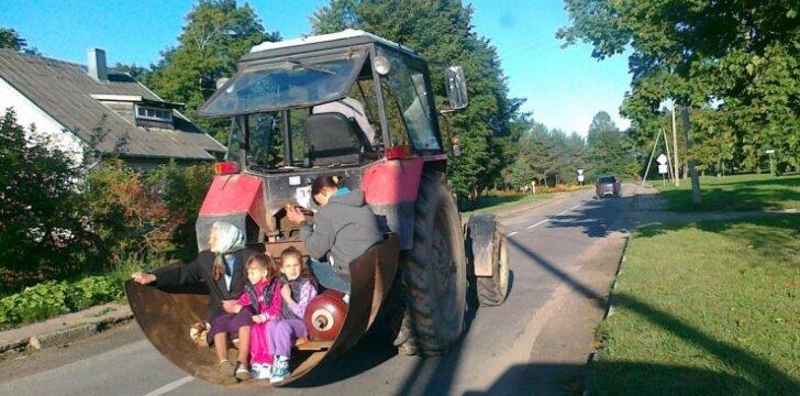 Šeimos transportas Lietuvoje