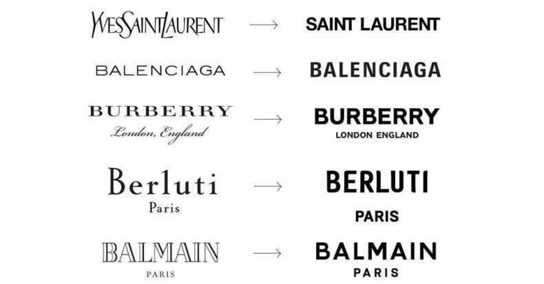 Paprastumo mada: kodėl tarptautiniai prekės ženklai keičia logotipus