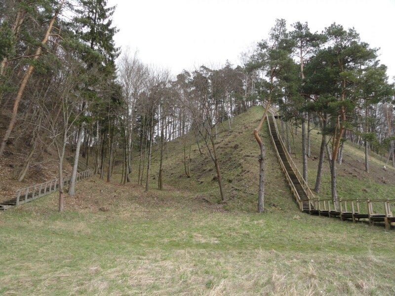 Vaizdas į Rambyno kalną