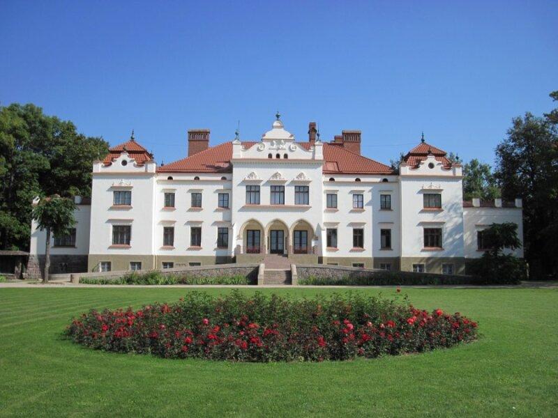 Rokiškio dvaro sodyba (Rokiškio turizmo informacijos centro nuotr.)