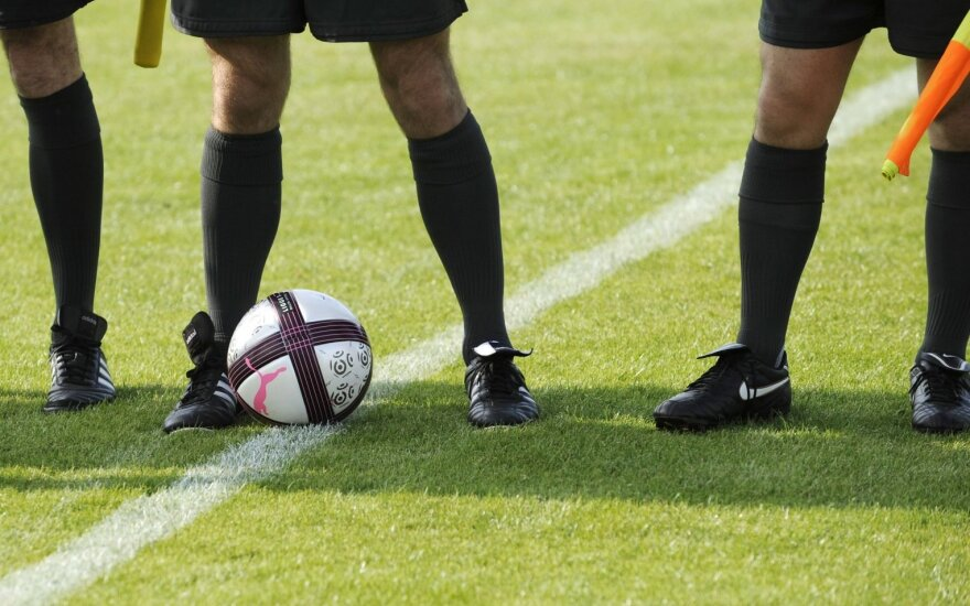 Futbolo teisėjai