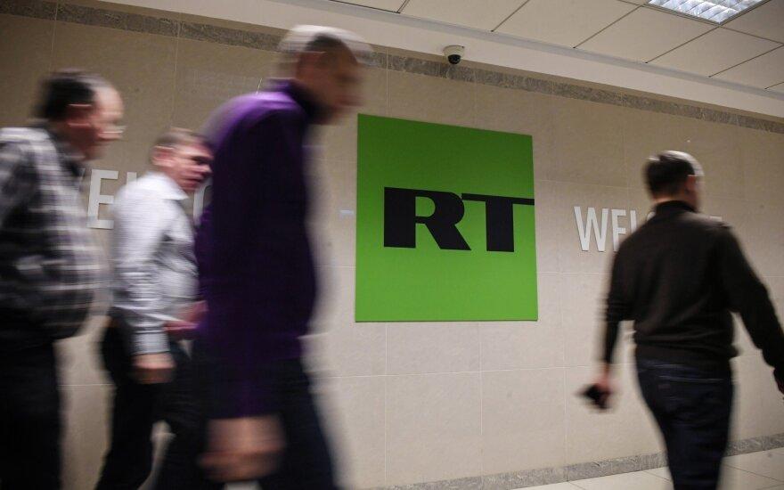 Latvijos parlamentas svarstys pasiūlymą suvaržyti Rusijos propagandą per TV