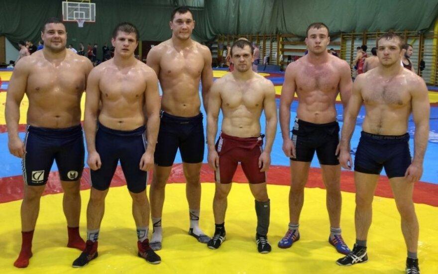 M. Mizgaitis, V. Laurinaitis, M. Knystautas, L. Adomaitis, R. Fridrikas ir J. Matuzevičius