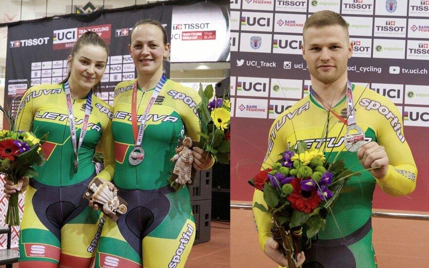 Miglė Marozaitė, Simona Krupeckaitė, Vasilijus Lendelis