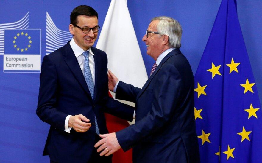 Nauja Lenkijos vyriausybė – signalas ES?