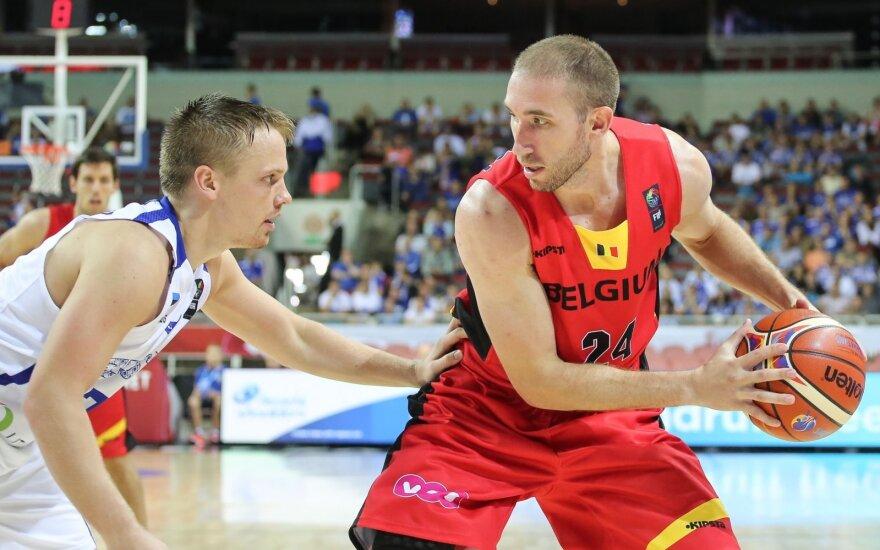 Europos krepšinio čempionatas 2015. Estija - Belgija