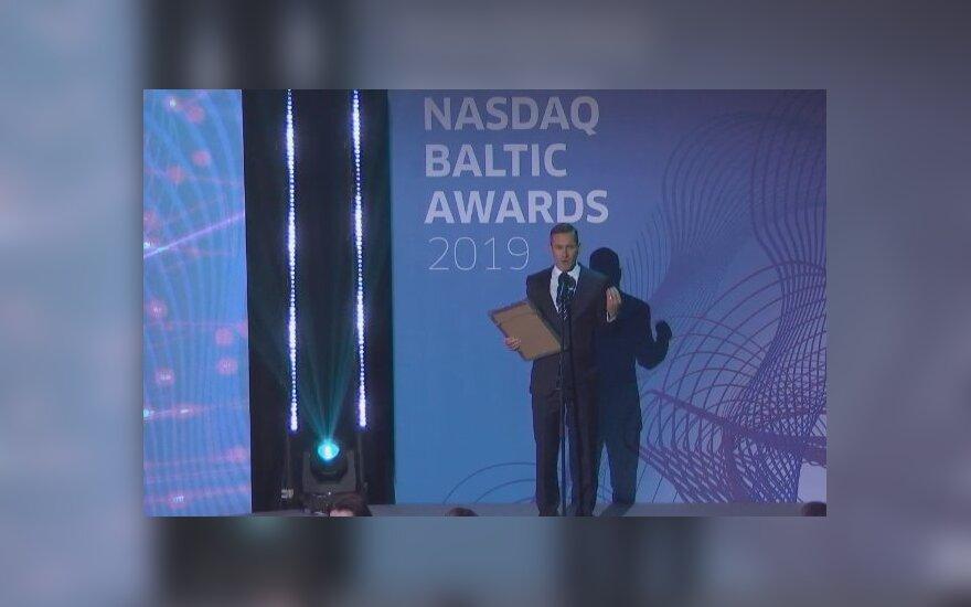 """Paskelbti """"Nasdaq Baltijos rinkos apdovanojimai 2019"""" nugalėtojai"""
