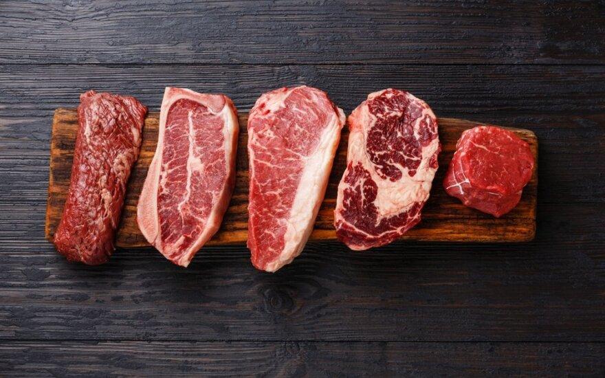 Raudona mėsa