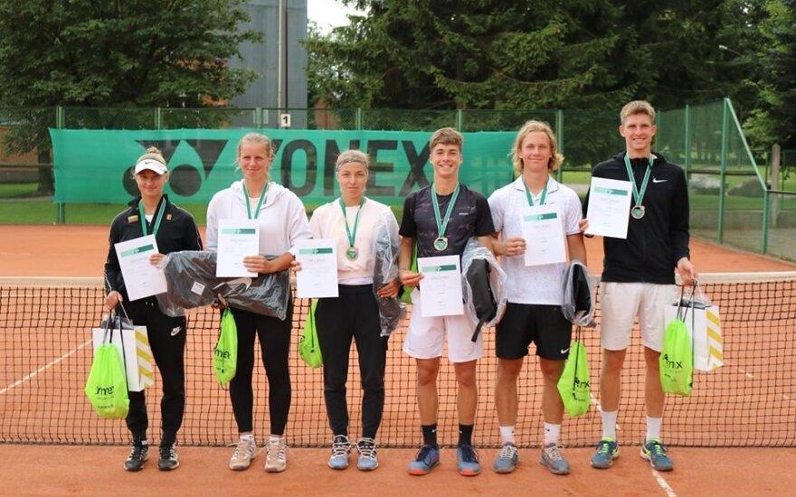 Teniso čempionato dalyviai / Foto: LTS