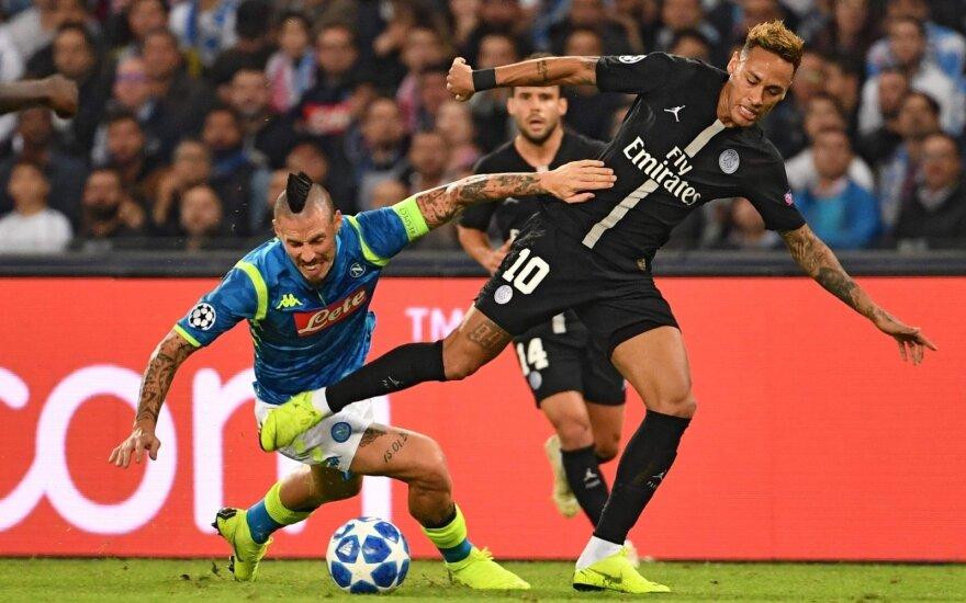 """UEFA Čempionų lyga: """"Napoli"""" - PSG"""
