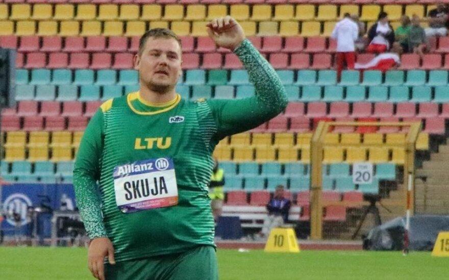 Pirmas auksas Lietuvai: Skuja – Europos čempionas