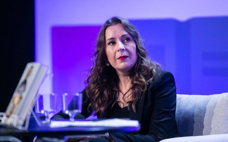 Kristina Sabaliauskaitė: priekaištai man atskleidė neišprusimą ir tingėjimą domėtis