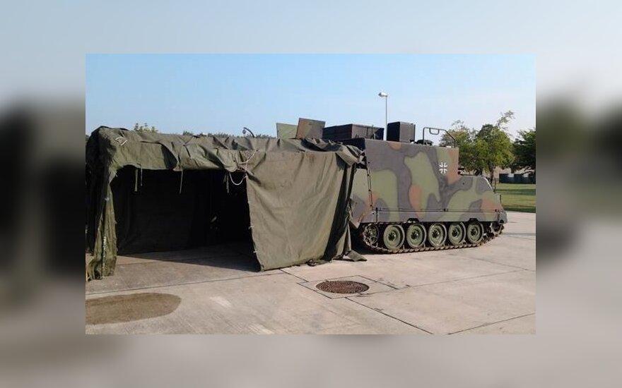 Lietuvos kariuomenės dalinius papildys iš Vokietijos įsigyjami šarvuočiai M577