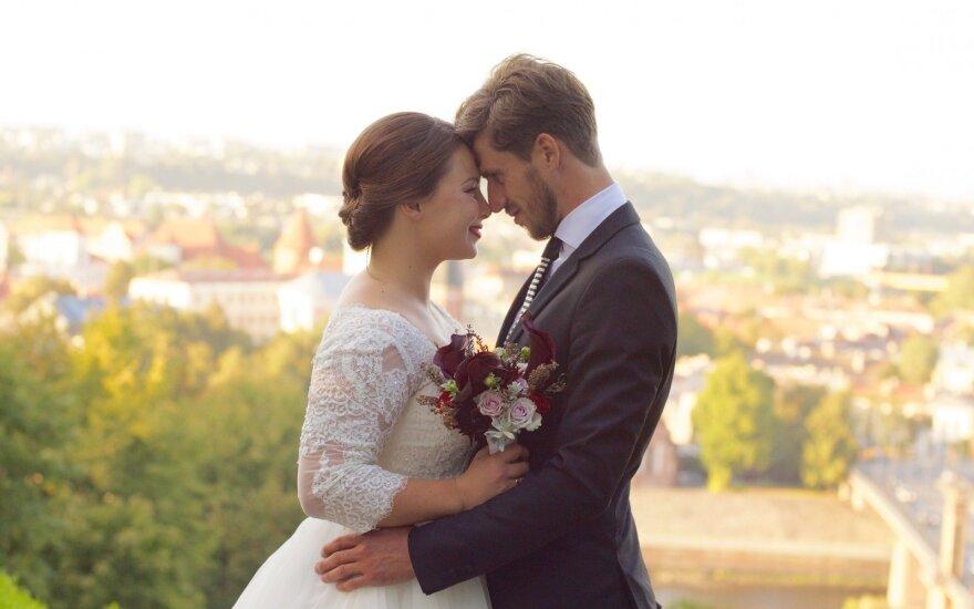 Juozas Bernotas su žmona (D.Gumbrevičiaus nuotr.)