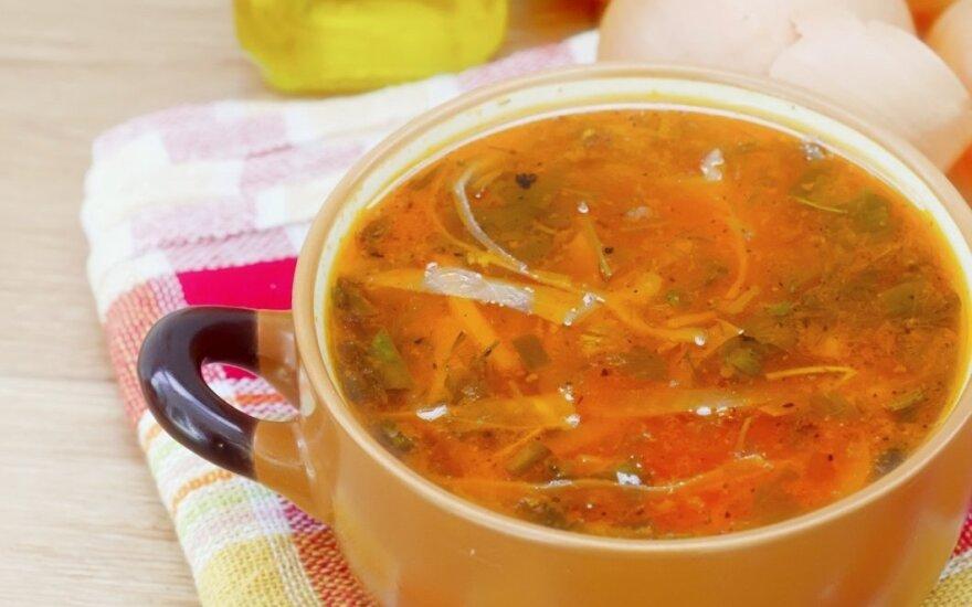 Saldžiarūgštė kopūstų sriuba